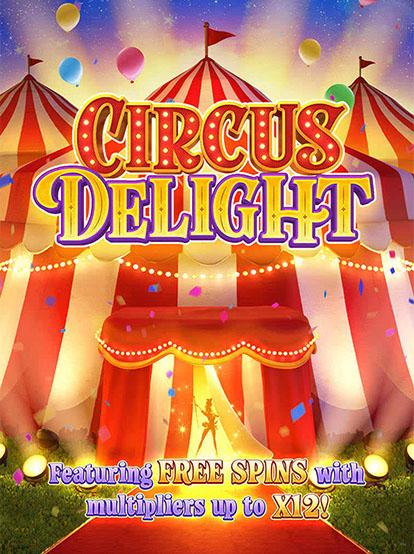 Circus Delight ทดลองเล่นฟรี